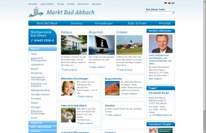 Bad Abbach - Innenseite Markt Bad Abbach