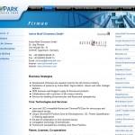Biopark Regensburg GmbH - Bereich Firmen