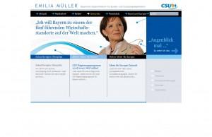 - Bayerische Staatsministerin für Bundes- und Europaangelegenheiten - Innenseite