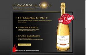 Startseite www.frizzantegold.de