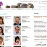 Gesundheitsakademie Schmidbauer - Team