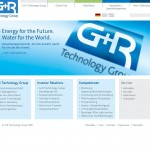 Startseite der Website GR Technology Group - www.grgmbh.de