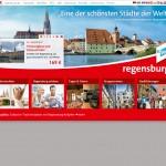 Regensburg Tourismus GmbH - Startseite mit aktivierter Flashanwendung - Angebot